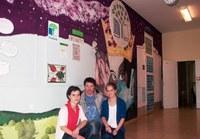Obrazová stěna Ekoškoly