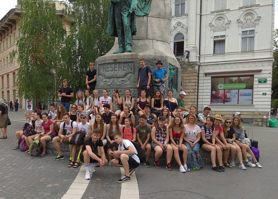 Mezinárodní výměnný pobyt našich studentů ve Slovinsku