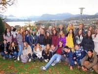 Mezinárodní výměnný pobyt našich žáků ve Švýcarsku