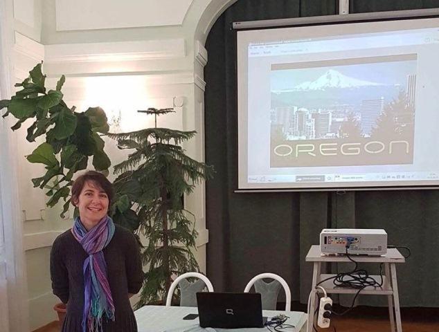 Přednáška o Oregonu