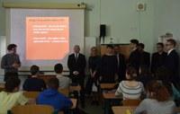 Návštěva hejtmana Jihomoravského kraje na gymnáziu