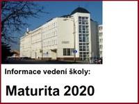 Maturita 2020 - konzultace