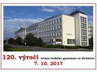 Oslavy 120. výroční založení gymnázia