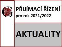 Přijímací řízení 2021