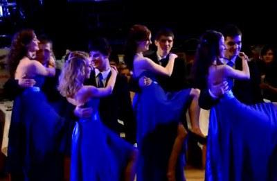 Ples 2013 - předtančení