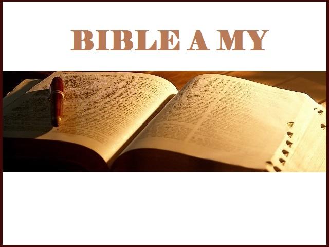Bible a my - postupujeme do celostátního kola!!!