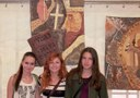 Naši studenti vystavují svá výtvarná díla ve Znojmě.